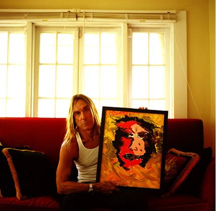 Carl Wilkinson Rock Wild Man Iggy Pop Reveals His Talent