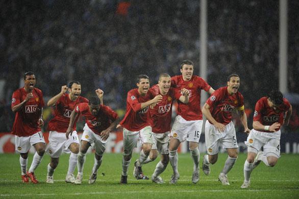 Chelsea Vs Manchester United Vs Fc Barcelona: Final Champions 2008