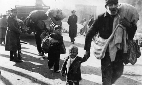 Refugees from Spanish Civil War, 1939