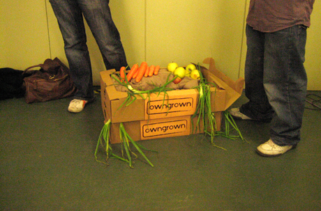 Owngrown's first delivery...