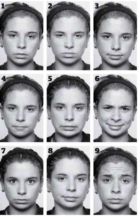 Facial Emotion Test 121