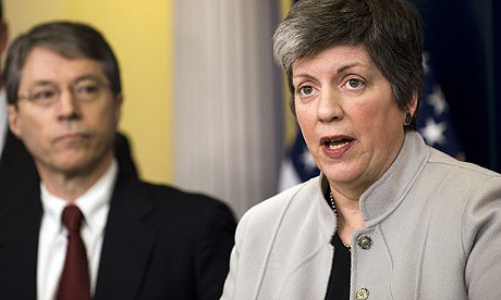 Janet Napolitano and David Ogden unveil the Obama administration's plans to fight violence by Mexican drug cartels