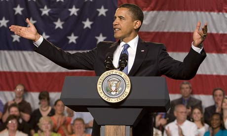 Barack Obama speaks about US healthcare reform