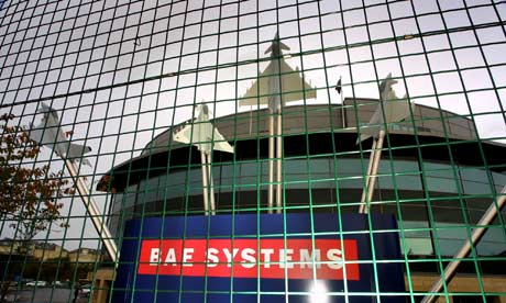 BAE Systems' office in Edinburgh