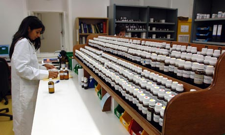Homeopathy: The pharmacy of the Royal London Homeopathic Hospital