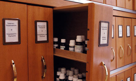 Homeopathy: Pharmacy at the Royal London Homeopathic Hospital