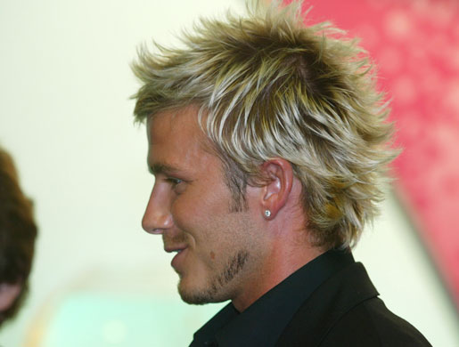 beckam hair style david beckham s new look in pictures fashion the 7295