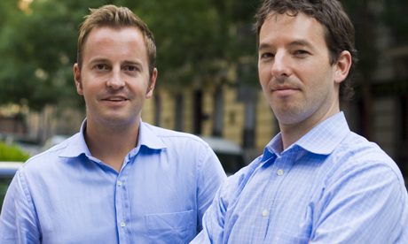 Busuu co-founders Bernhard Niesner and Adrian Hilti