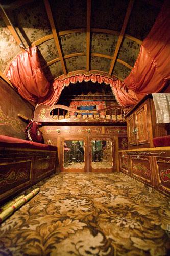 Inside Gypsy Wagon Interiors Gypsy Caravan Dreams
