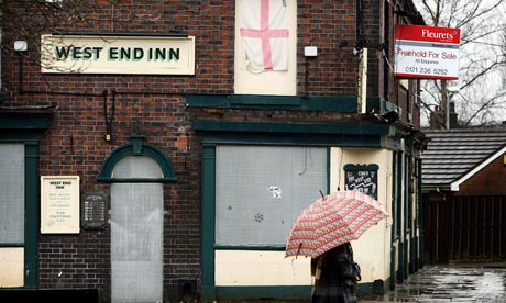 As the recession bites, a Stoke-on-Trent pub remains empty