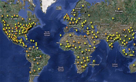 The Global Disease Alert Map