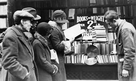 Book Customers Browsing Selection