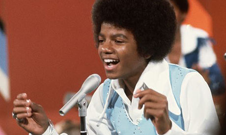 Young Michael Jackson Singing