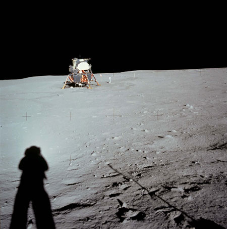 Moon Landing Photos Shadows In Pictures: Top 10 Ap...