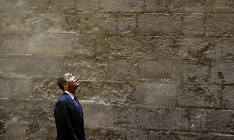 President Barack Obama tours the Sultan Hassan Mosque in Cairo, Egypt.
