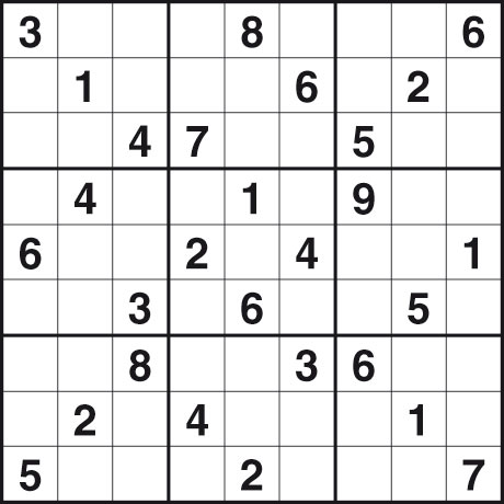 graphic regarding Medium Sudoku Printable named Printable Sudoku Medium