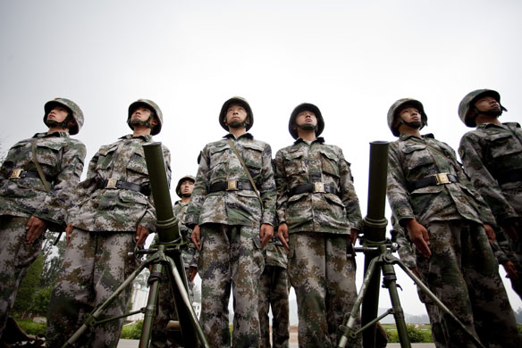 People's Liberation Army media day | World news | The Guardian