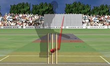 Ben Hilfenhaus's LBW appeal against Kevin Pietersen on 61