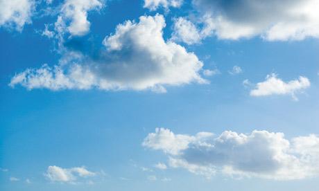 December | 2014 | Gulara Vincent  |Light Blue Sky Clouds