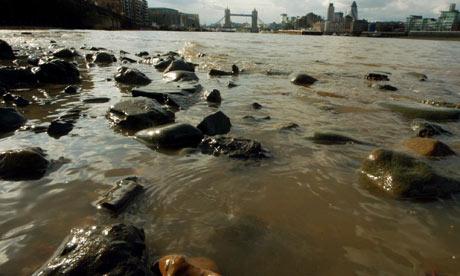 The River Thames at Bermondsey looking towards Tower bridge, London. Photograph: Graham Turner. Guardian.co.uk