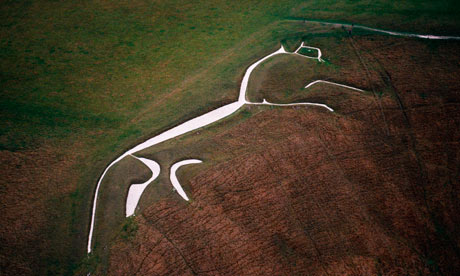 White Horse Of Uffington Is A Dog Claims Vet Science