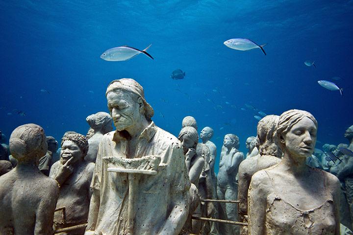 silent evolution museo sott'acqua