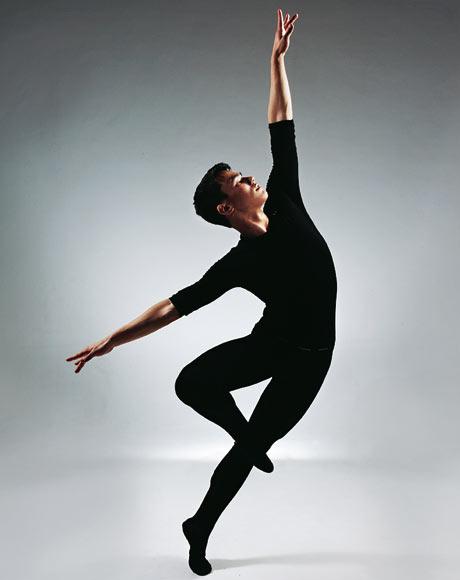 Gay black dancer