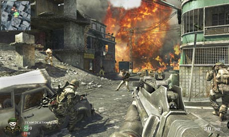 The 'Cracked' multiplayer map from Call of Duty: Black Ops.