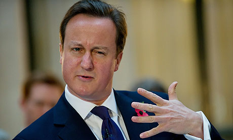 David Cameron launches Departmental Business Plans