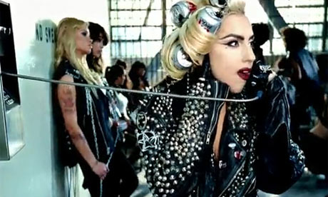 Lady Gaga Telephone Clothes