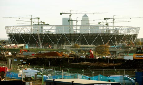 2012 Olympics site in Stratford