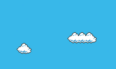 Super Mario Clouds