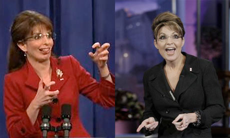Sarah Palin and Tina Fey