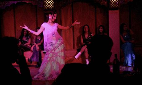 Dancers in Dubai
