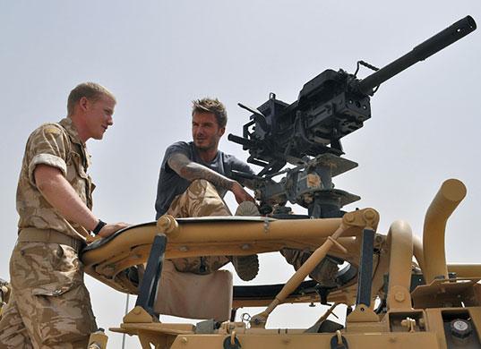 David Beckham visits Afgh 007