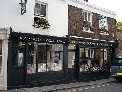 Bookshops: John Sandoe Books