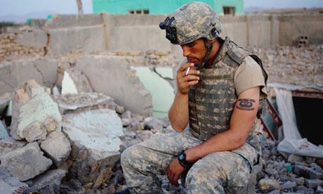 Us Soldier In Afghanistan 006 Jpg