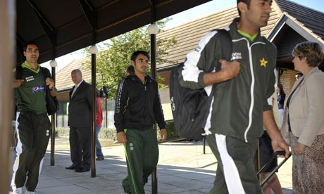 Cricket - Pakistan Arrive at Team Hotel