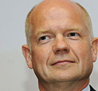 UK Foreign Secretary William Hague deliv