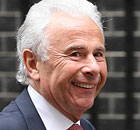 Lord Levy in Downing Street