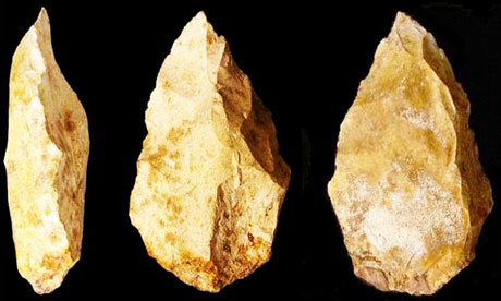 stone tools flints