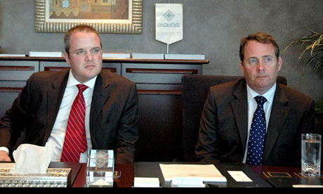 Adam Werritty and Liam Fox, Dubai 2007