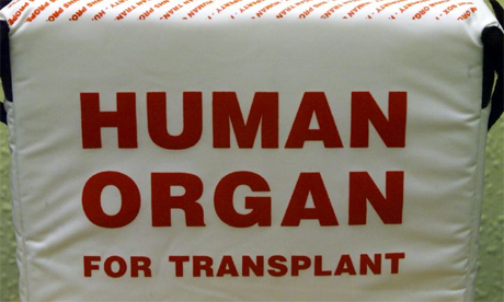 Organ donation box