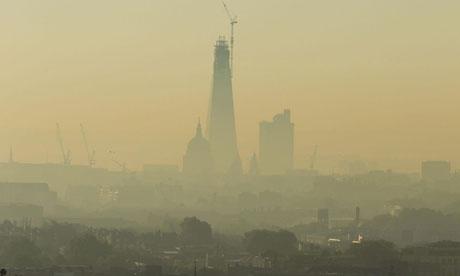 Summer smog in London, October 2