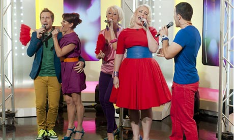 The reformed Step performing on ITV's This Morning