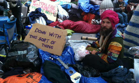 Father Ted appreciated at Occupy Wall Street