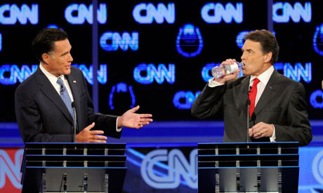 Rick Perry and Mitt Romney