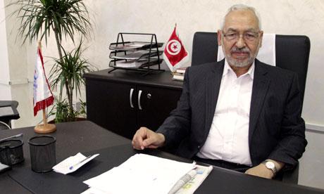 Rachid Ghannouchi - AP