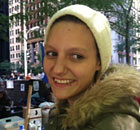 Melanie Massier, protester at Occupy Wall Street
