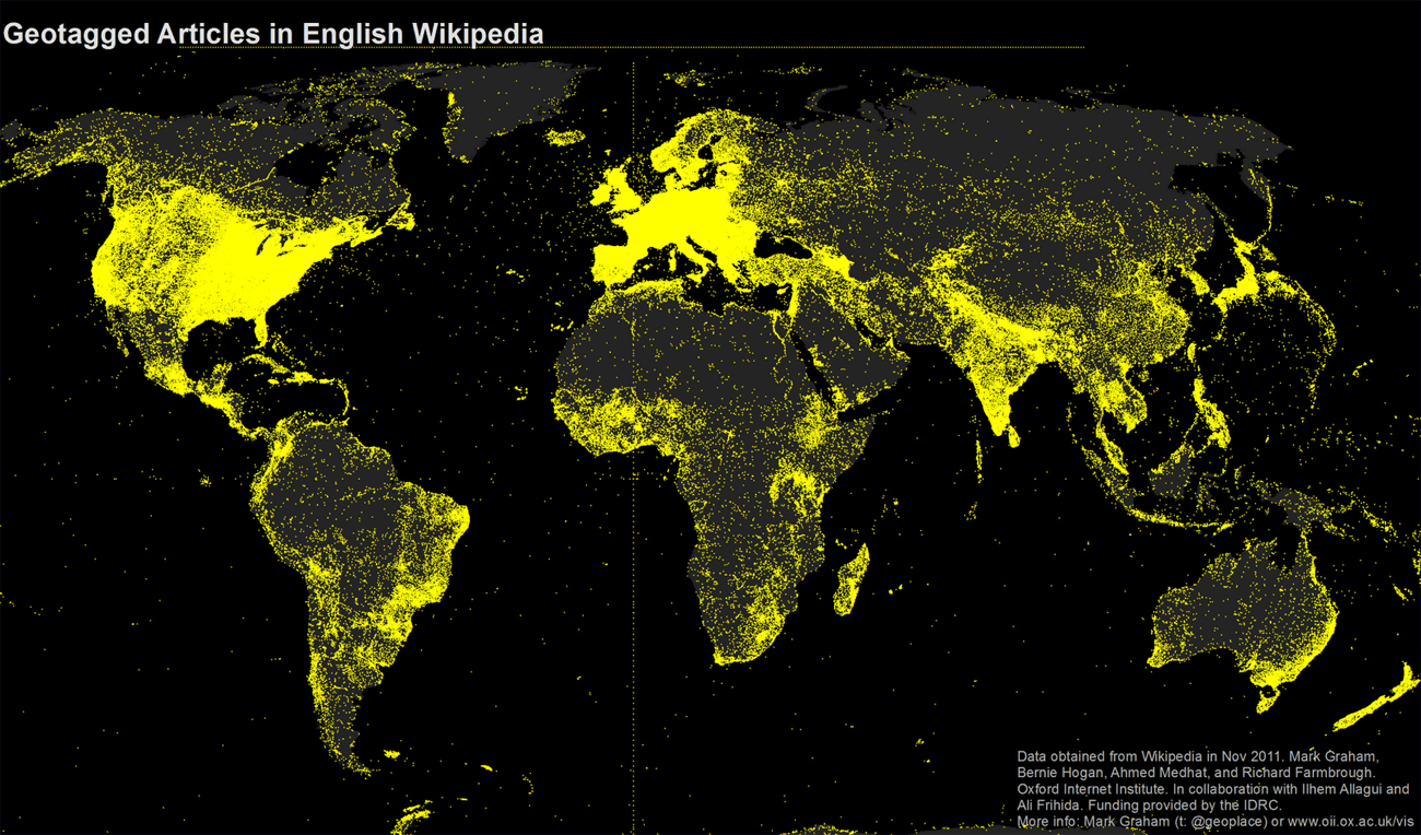 The World Of Wikipedia S Languages Mapped News The